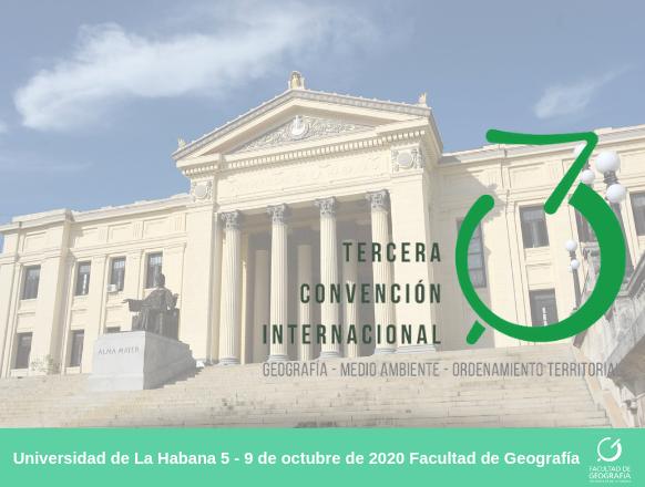Events in Cuba - Tercera Convención Cubana de Ciencias de la Tierra. GEOCIENCIAS 2009