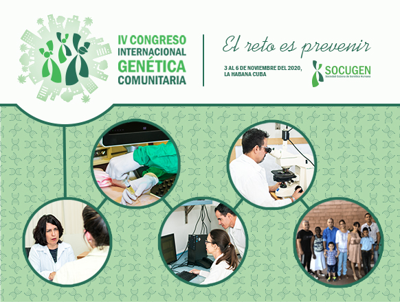 Eventos en Cuba - IV Congreso Internacional de Genética Comunitaria