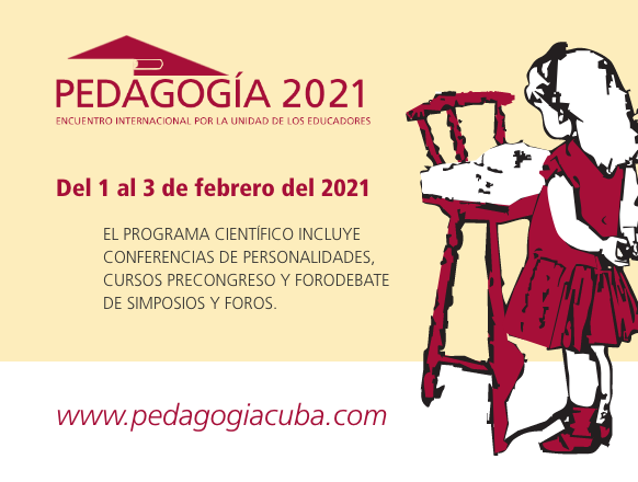 Evento - Congreso Internacional en Modalidad Virtual Pedagogía 2021