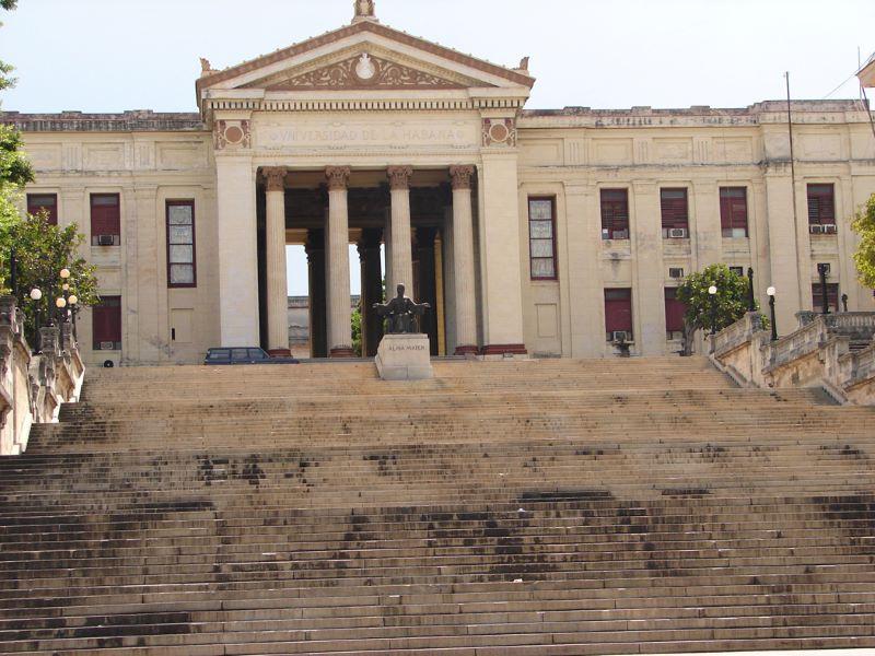 Visita Área Patrimonial de la Universidad de la Habana